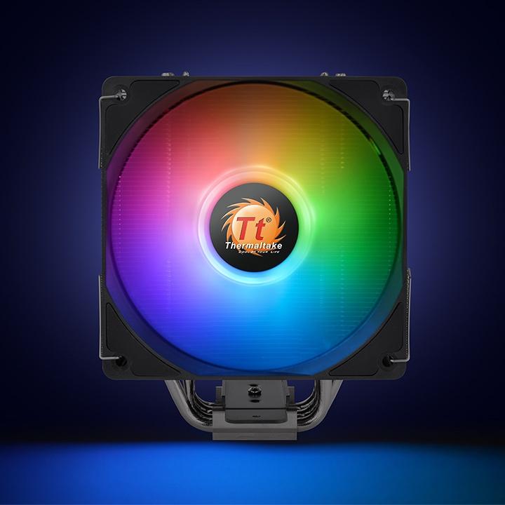 Thermaltake UX210 ARGB Lighting - Prozessor-Luftkühler - (für: LGA1156, LGA1366, LGA1155, LGA2011, LGA1150, LGA2011-3, LGA1151, LGA2066, LGA1200)