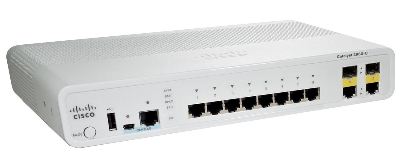 Cisco Catalyst 2960C-8TC-L Switch (WS-C2960C-8TC-L)