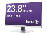 """TERRA 2462W 60.5cm/23.8"""" Full HD TFT Matt Silber"""