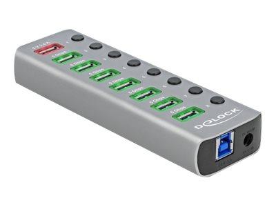 Vorschau: Delock Hub - 7 x USB 3.2 Gen 1 - Desktop