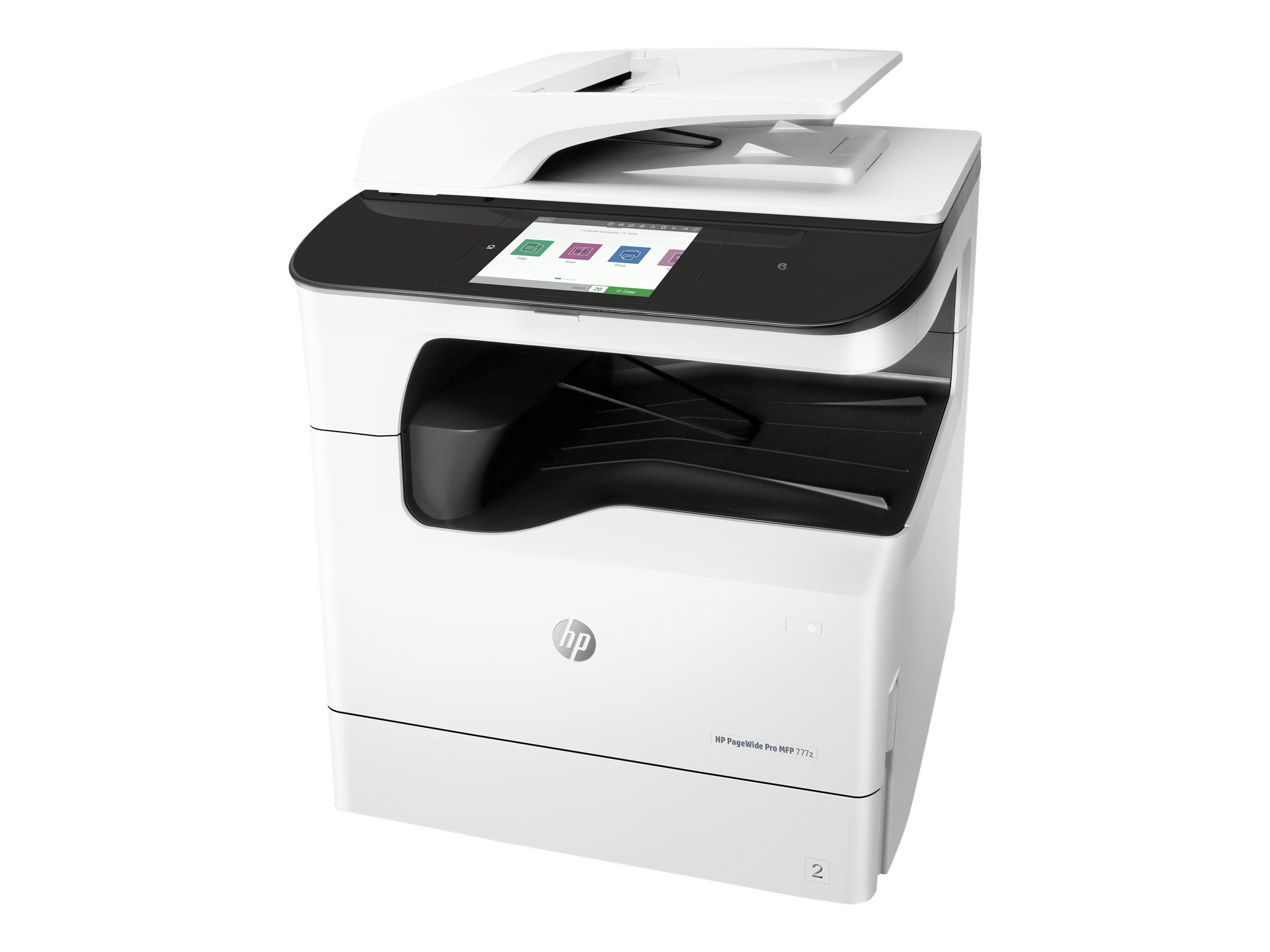 HP PageWide Pro 777z - Multifunktionsdrucker - Farbe - Tintenstrahl - A4 (210 x 297 mm)