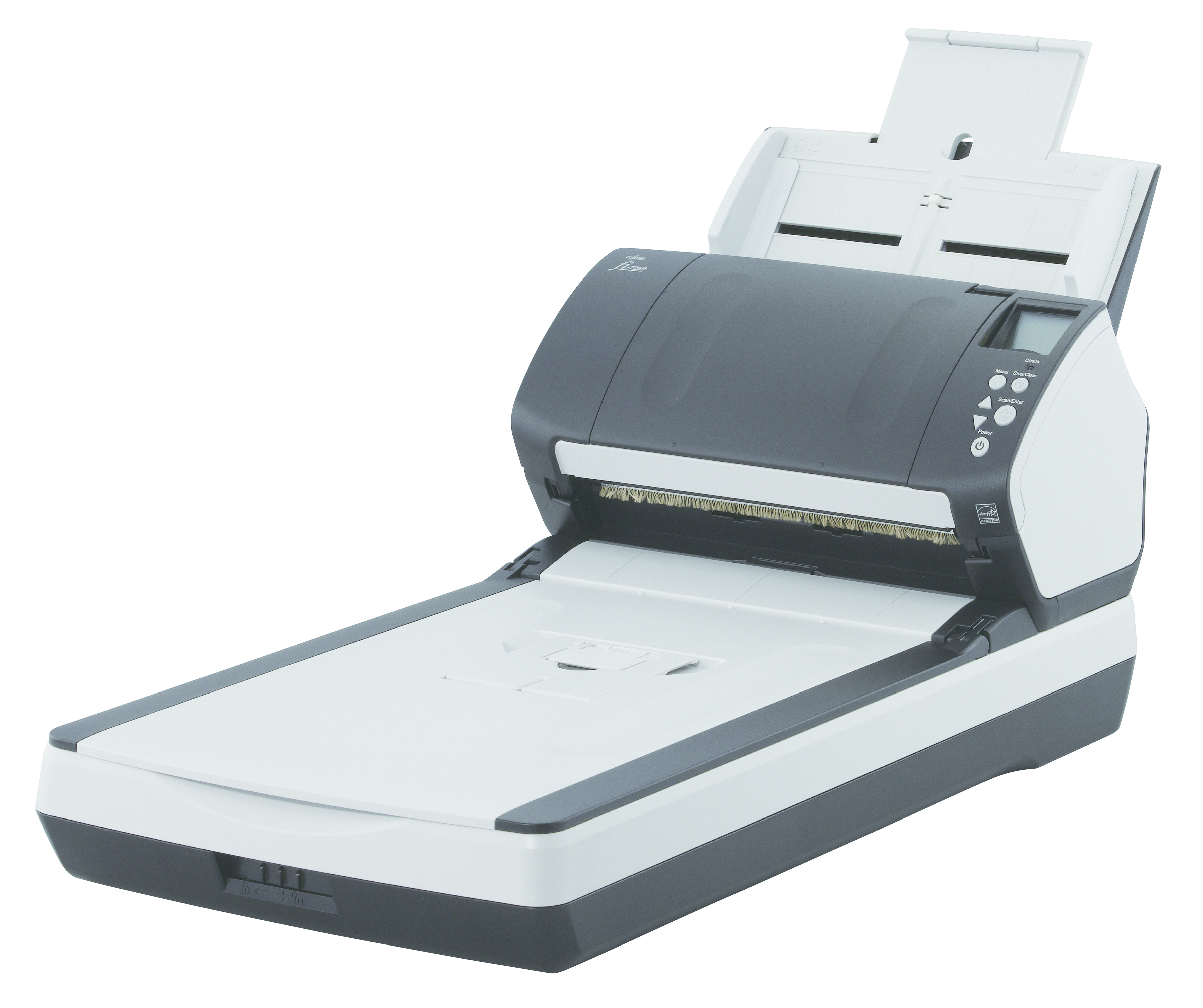 Fujitsu fi-7280 Flatbed & ADF scanner 600 x 600DPI A4 Schwarz - Weiß