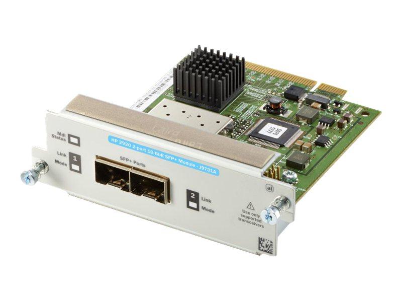 HP 2920 2-port 10GbE SFP+ Module (J9731A)