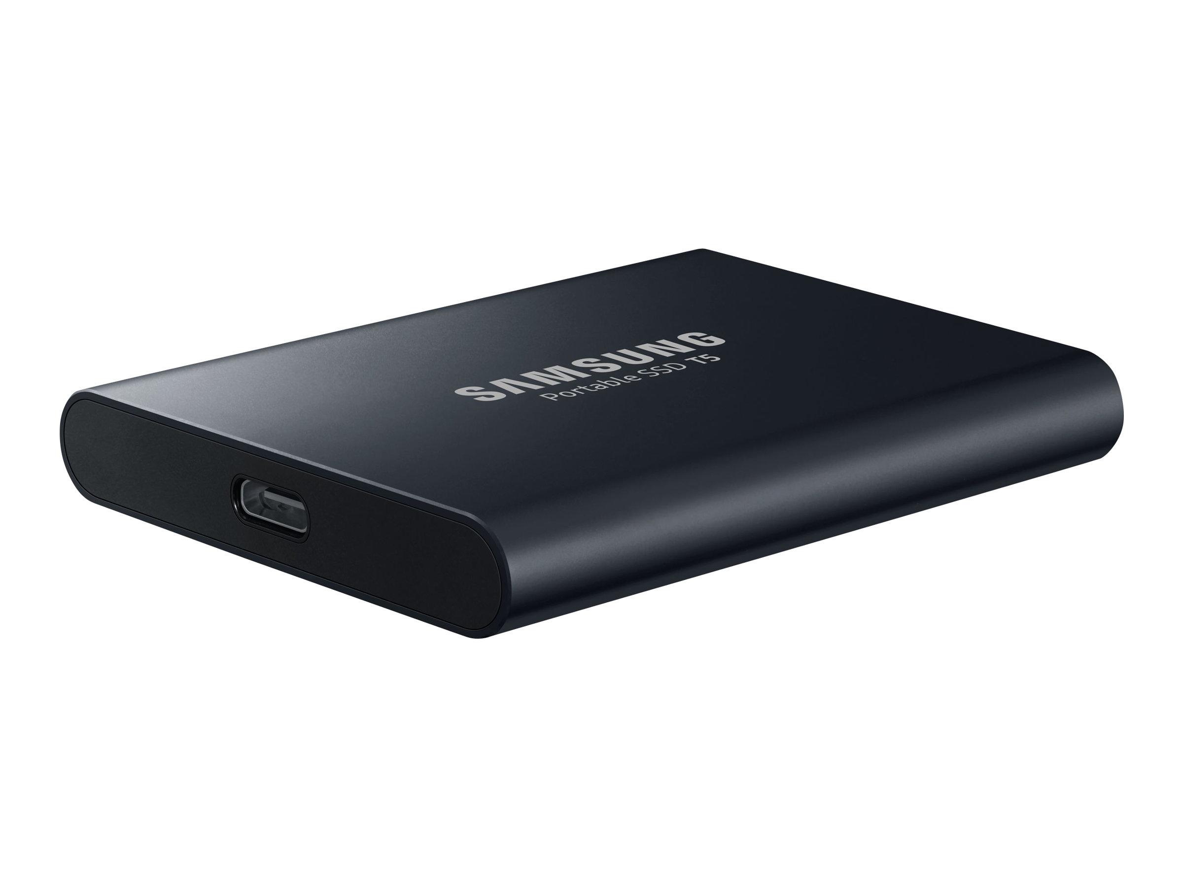 Samsung T5 MU-PA1T0 - 1 TB SSD - extern (tragbar)
