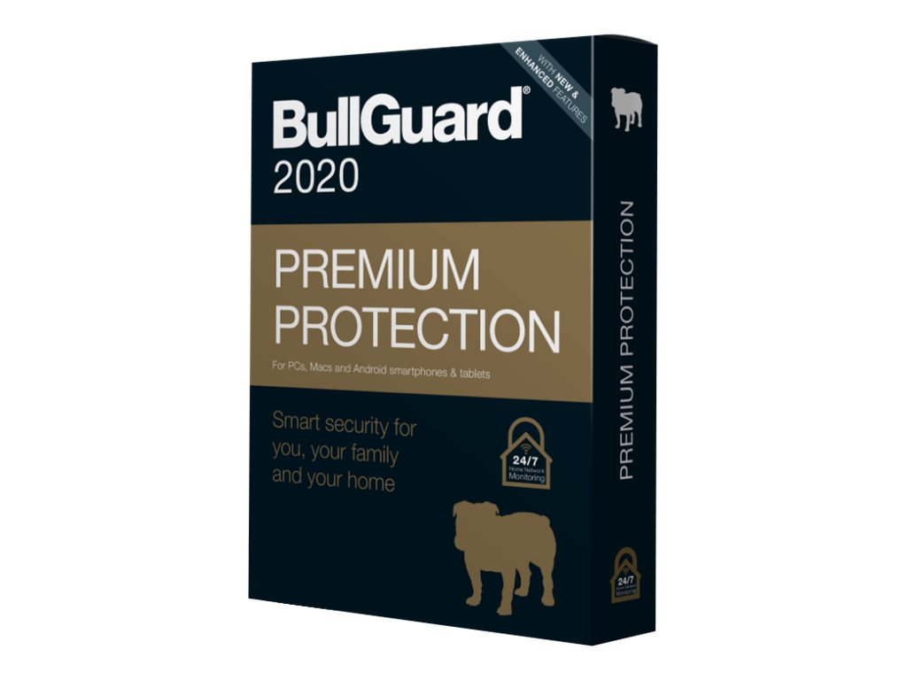 BullGuard Premium Protection 2020 - Box-Pack (1 Jahr)
