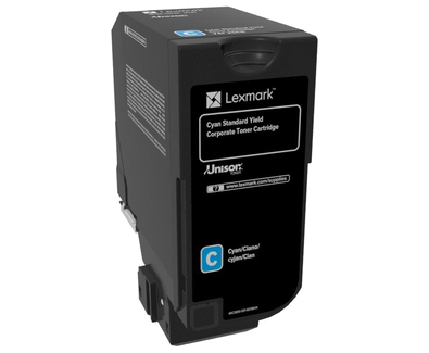 Lexmark Cyan - Original - Tonerpatrone LCCP, LRP, Lexmark Corporate