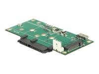 62867 Eingebaut M.2 - SATA - mSATA Schnittstellenkarte/Adapter