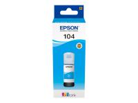 104 EcoTank Cyan ink bottle