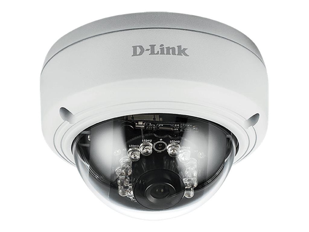D-Link Vigilance DCS-4603 Full HD PoE Dome Camera - Netzwerk-Überwachungskamera - schwenken / neigen - Farbe (Tag&Nacht)