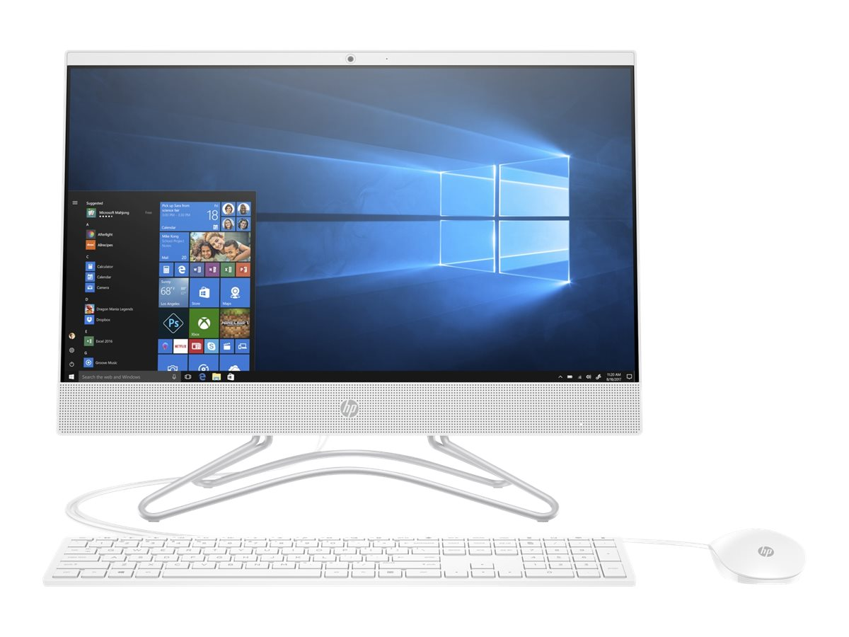 HP Pavilion 22-c0054ng - All-in-One (Komplettl?sung) - 1 x Pentium Silver J5005 / 1.5 GHz - RAM 4 GB - HDD 1 TB - DVD-Wr