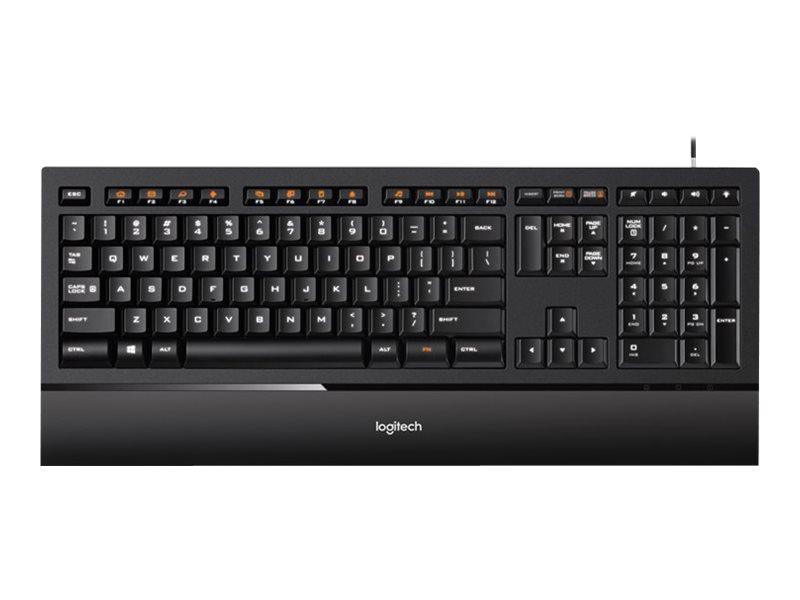 Logitech Illuminated K740 - Tastatur - hinterleuchtet