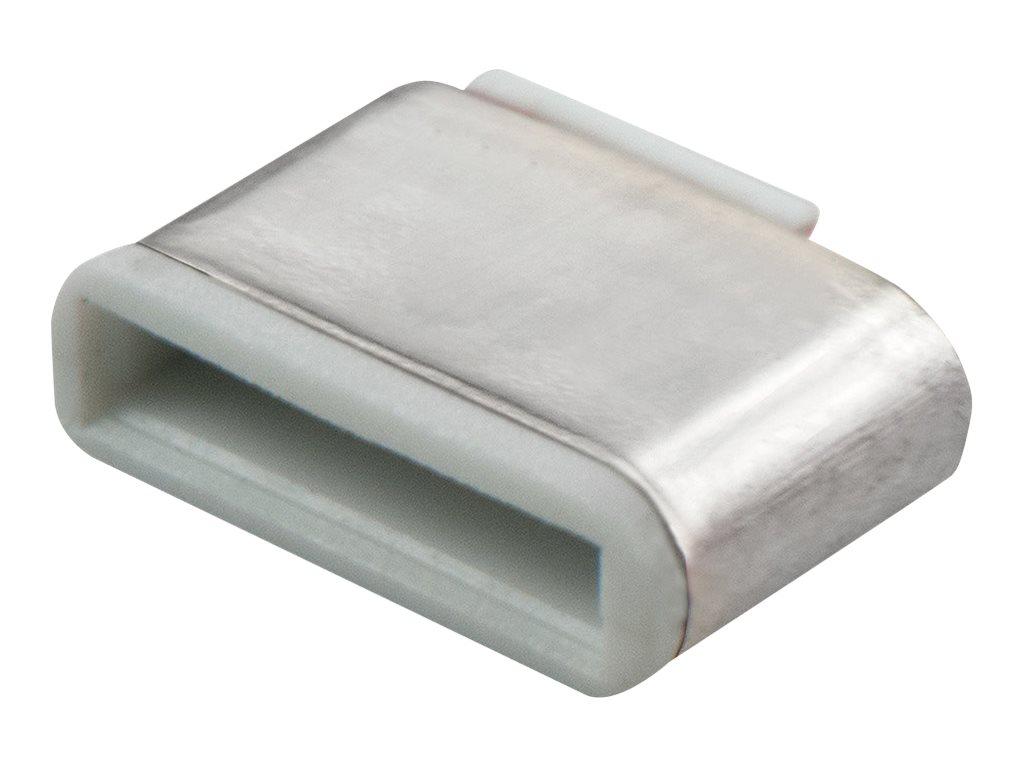 Lindy Schloss für USB-C-Port - weiß (Packung
