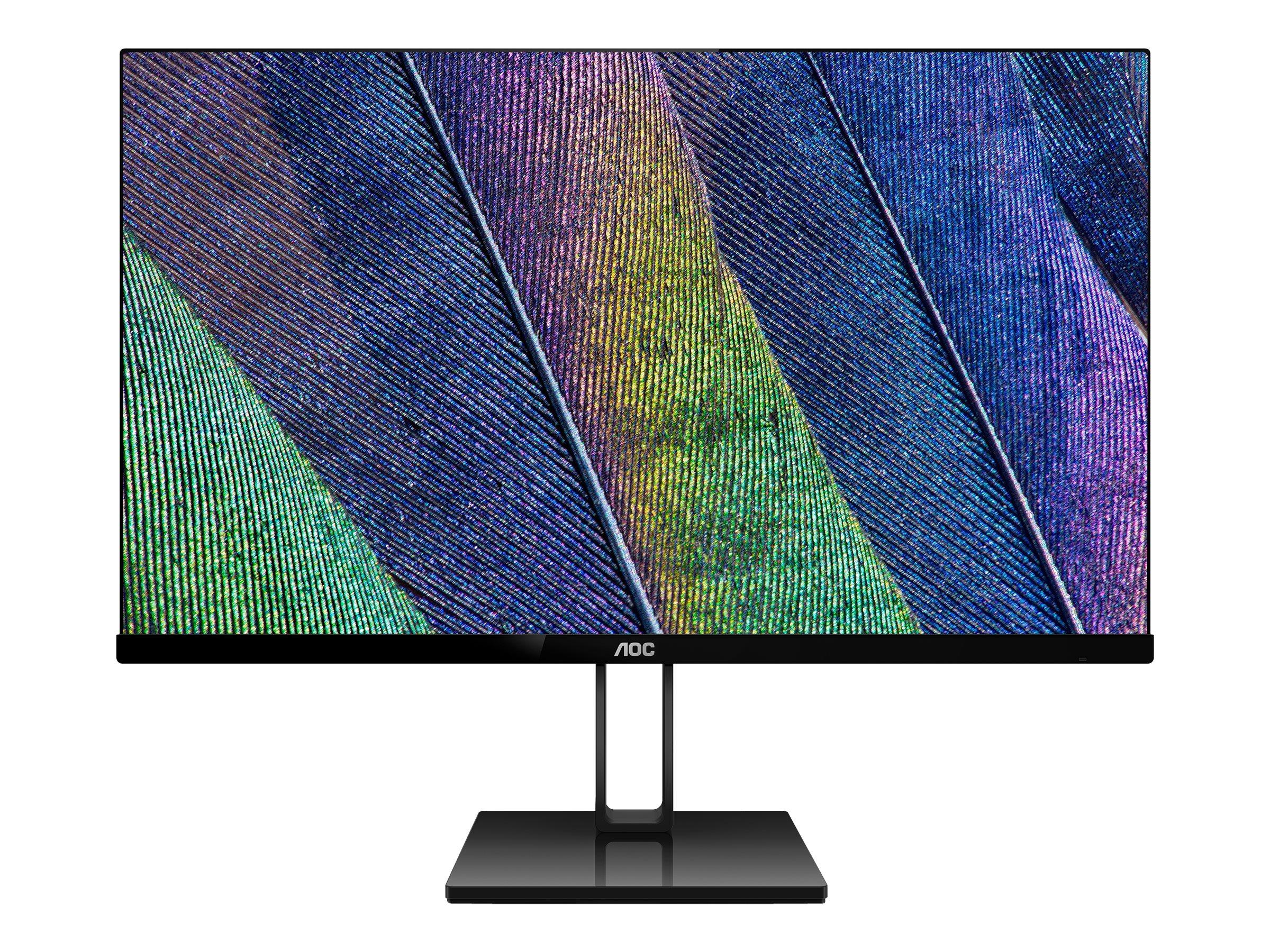 """AOC 27V2Q - LED-Monitor - 68.6 cm (27"""") - 1920 x 1080 Full HD (1080p)"""