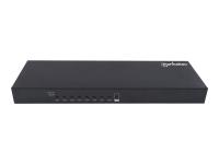 152785 Tastatur/Video/Maus (KVM)-Switch Schwarz