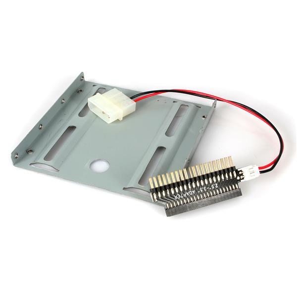 StarTech.com 2,5 IDE Festplatten Adapter Bracket / Einbaurahmen auf 3,5 Zoll Schacht