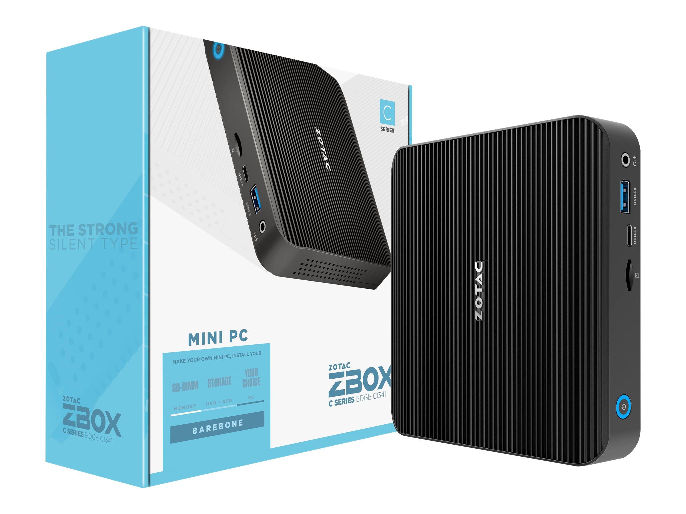 ZOTAC ZBOX C Series CI341 nano - Barebone - Mini-PC