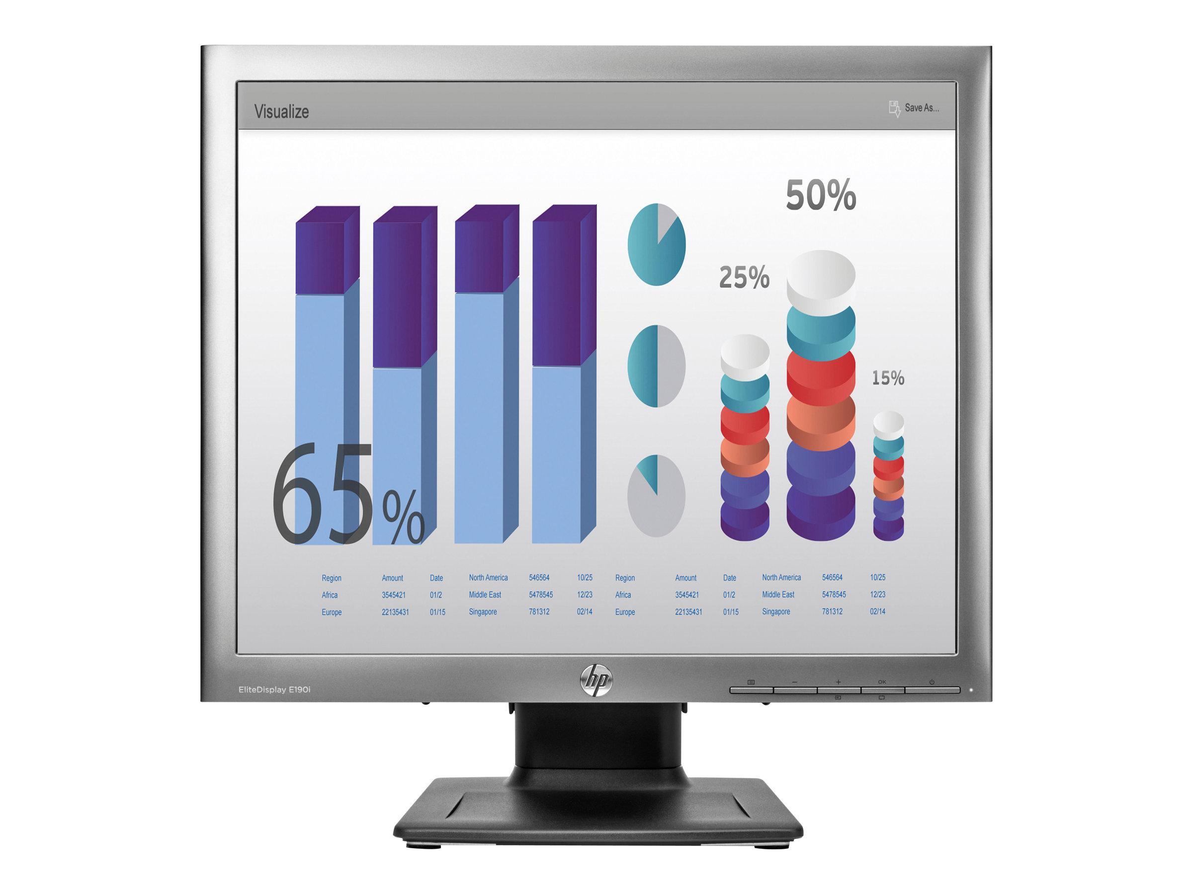 HP EliteDisplay E190i Monitor (E4U30AA#ABB)