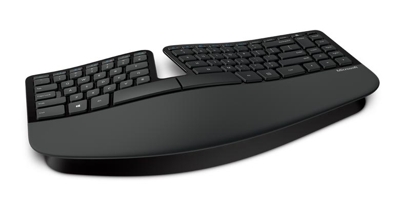 Microsoft Sculpt Ergonomic for Business RF Wireless QWERTZ Deutsch Schwarz