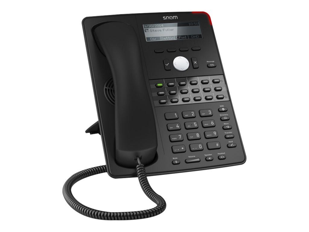 Snom D725 - VoIP-Telefon - dreiweg Anruffunktion