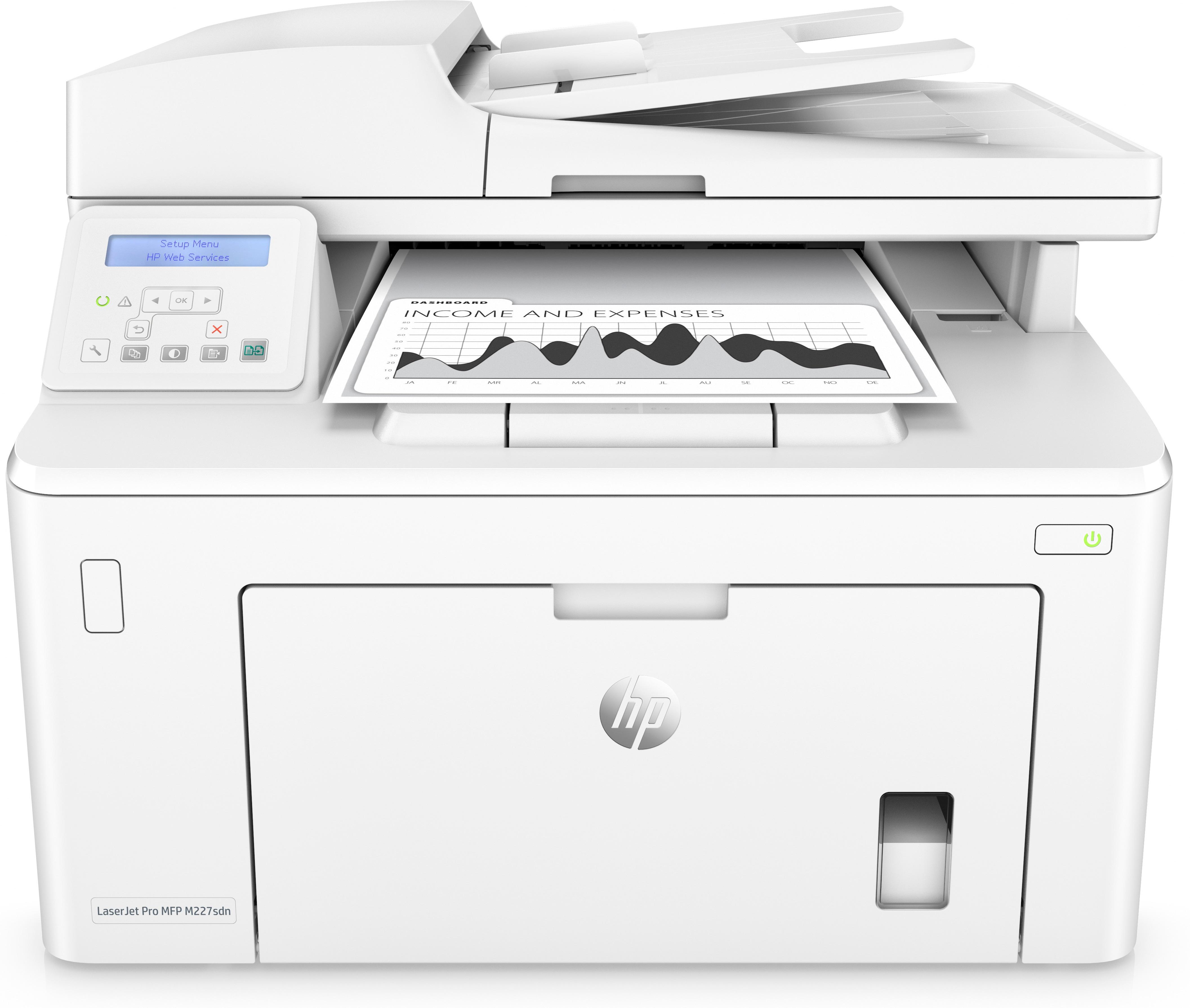 HP LaserJet Pro MFP M227sdn, S/W-Laser, MFP, A4
