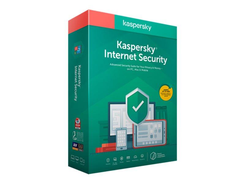 Kaspersky Internet Security 2020 - Box-Pack (Upgrade)