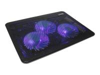 CMLC-1043T Notebook-Kühlpad 43,2 cm (17 Zoll) 1100 RPM Schwarz