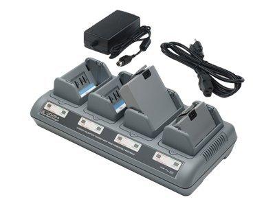 Zebra Quad Charger UCLI72-4 - Netzteil + Batterieladegerät