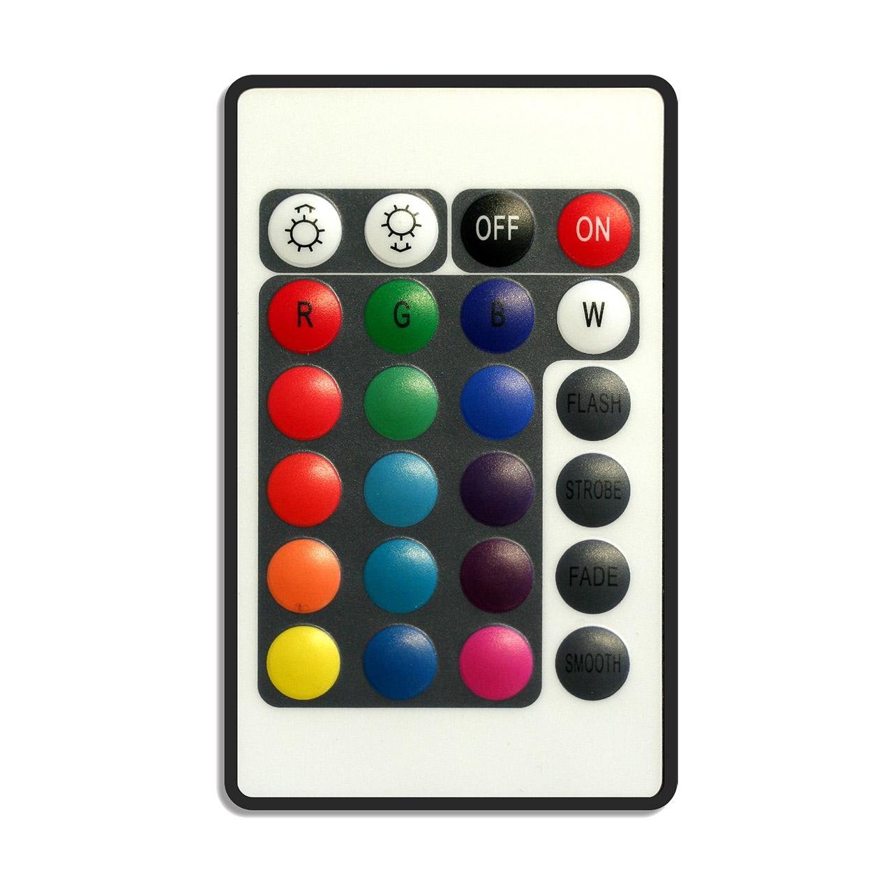 Nanoxia NXRGBC - Kabellos - Schwarz - Weiß - Tasten - IR Wireless - 12 V - 3x 2 A
