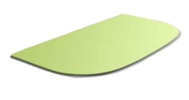 Segula 70932 - Rechteck - Grün - Gummi - Einfarbig - 247 mm - 19,8 cm