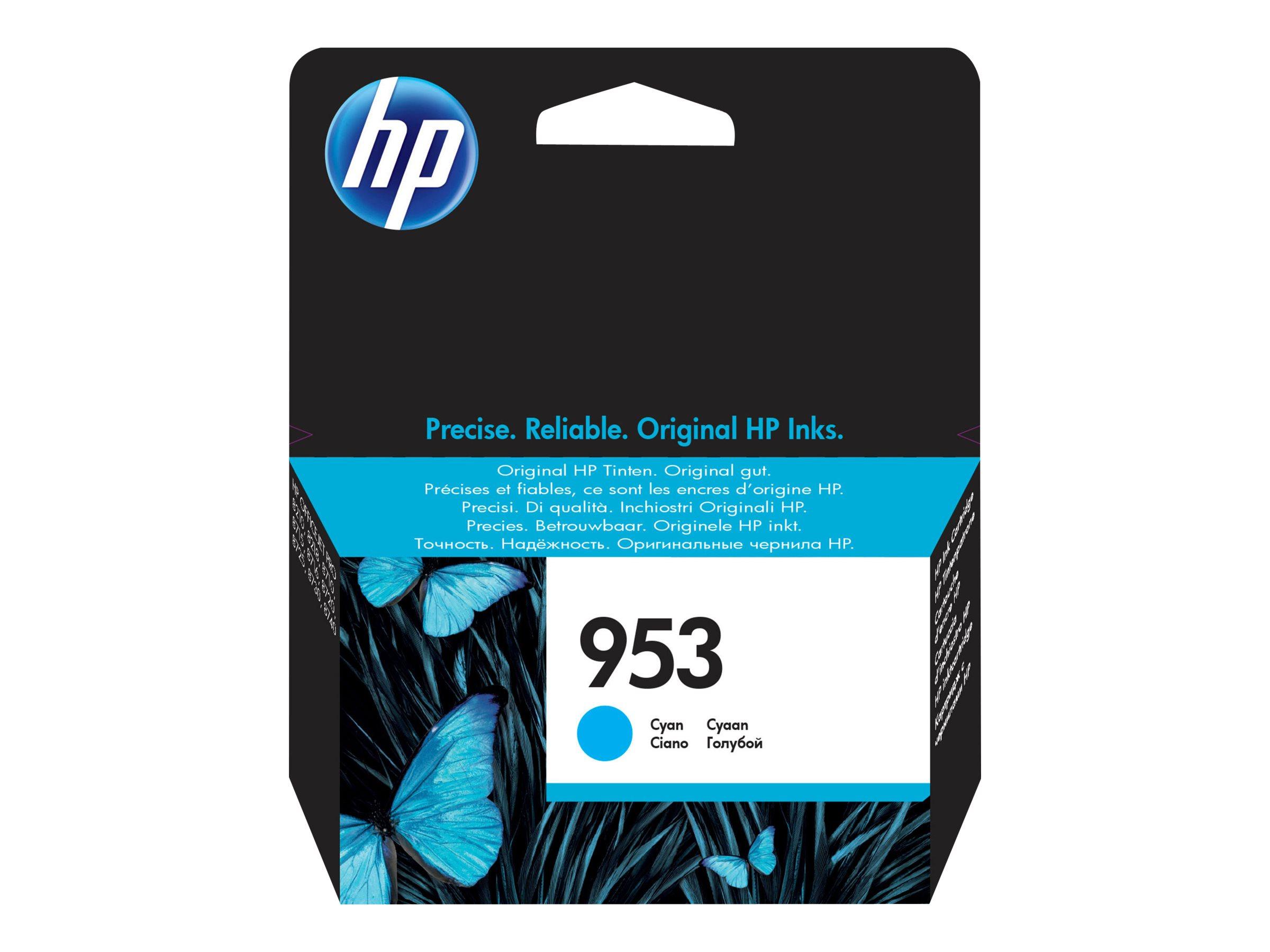 Vorschau: HP 953 - 10 ml - Cyan - Original - Tintenpatrone