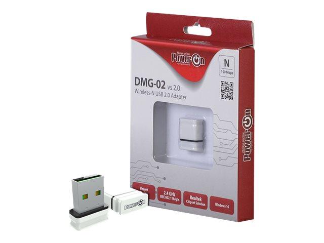 Inter-Tech DMG-02 - Netzwerkadapter - USB 2.0