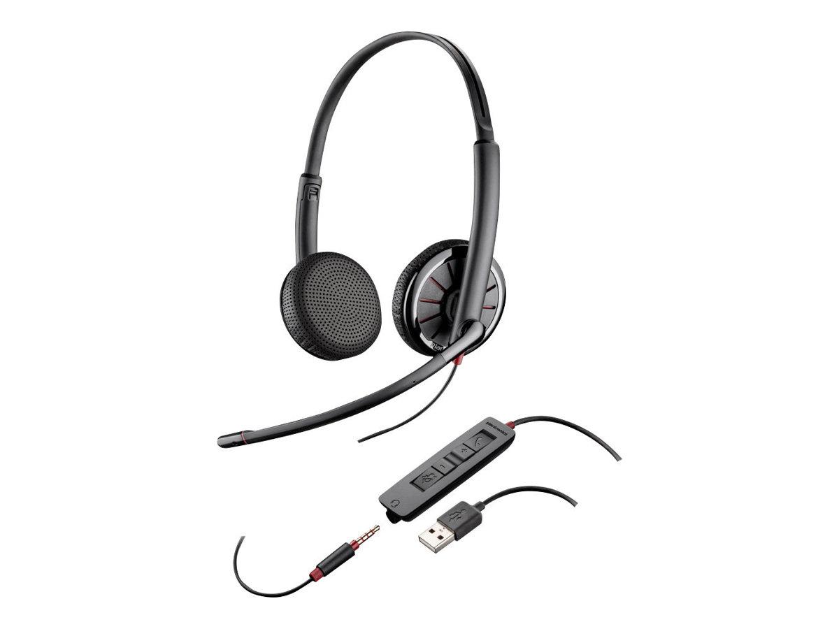 Fujitsu Plantronics Blackwire 325 - 300 Series - Headset - Kabelgebunden