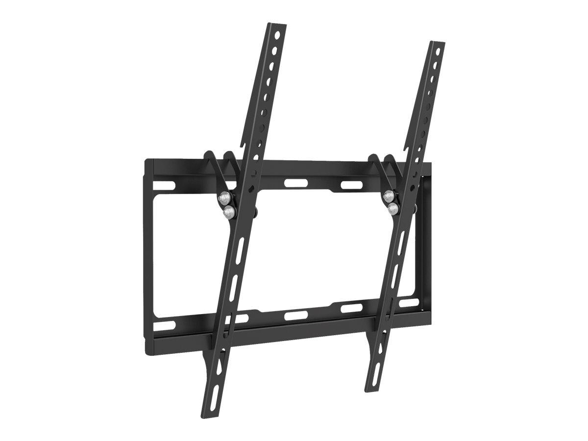"""equip Befestigungskit (Kippbare Wandhalterung) für Flachbildschirm - kaltgewalzter Stahl - Schwarz - Bildschirmgröße: 81-140 cm (32""""-55"""")"""