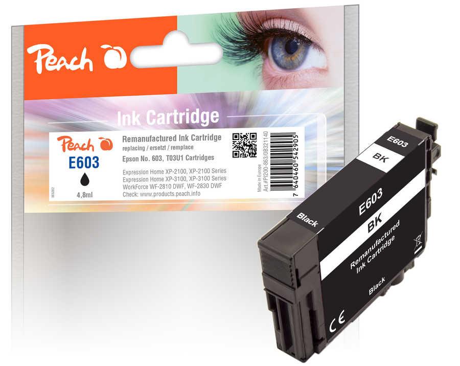 Peach Patrone Epson No. 603 bk PEA T03U1 REM FW