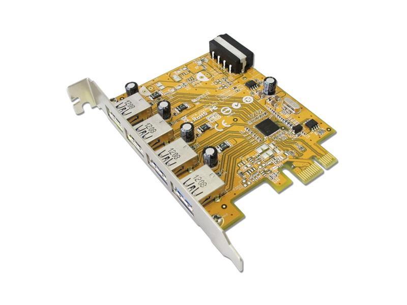 Sunix USB4300 PCIe USB 3.0 PCIe 2.0 0.5 Gbit/s 0 57 °C 20 85 °C