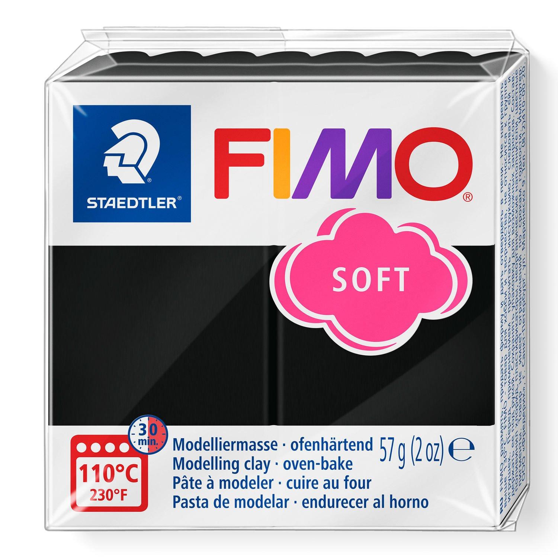 Vorschau: STAEDTLER FIMO 8020 - Knetmasse - Schwarz - Erwachsene - 1 Stück(e) - 1 Farben - 110 °C
