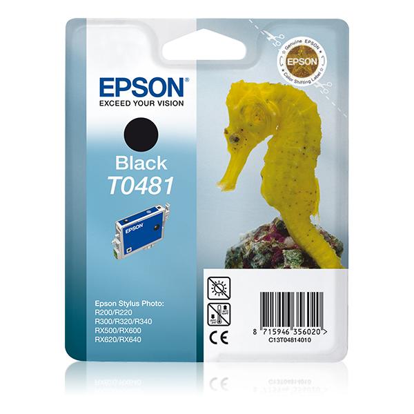 Epson-C13T04814020-Seahorse-Singlepack-Black-T0481-Original-Pigment-based