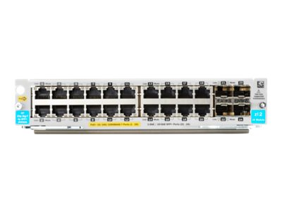 HPE Aruba 20p PoE+ / 4p SFP+ v3 zl2 Module (J9990A)