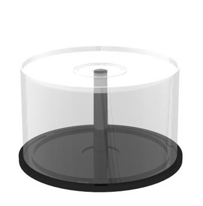 MEDIARANGE BOX42 - Spindle case - 50 Disks - Transparent - Kunststoff - 120 mm - 1 Stück(e)