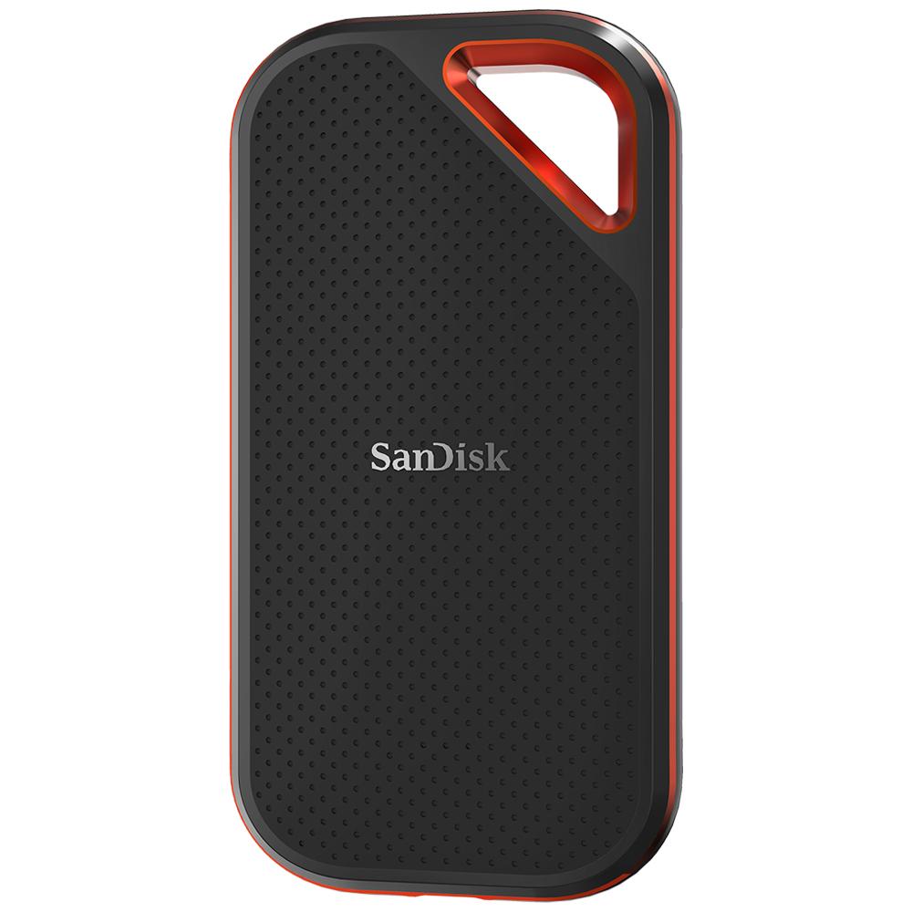 SanDisk Extreme PRO - 500 GB - 3.2 Gen 2 (3.1 Gen 2) - 1050 MB/s - Passwortschutz - Schwarz - Orange