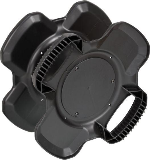 Brennenstuhl 1169700010 - Halterung für Stromverlängerung - Schwarz - 250 mm - 130 mm - 250 mm - 380 g