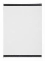 Durable Magnettasche DIN A4 transparent Beutel a 2 Stück