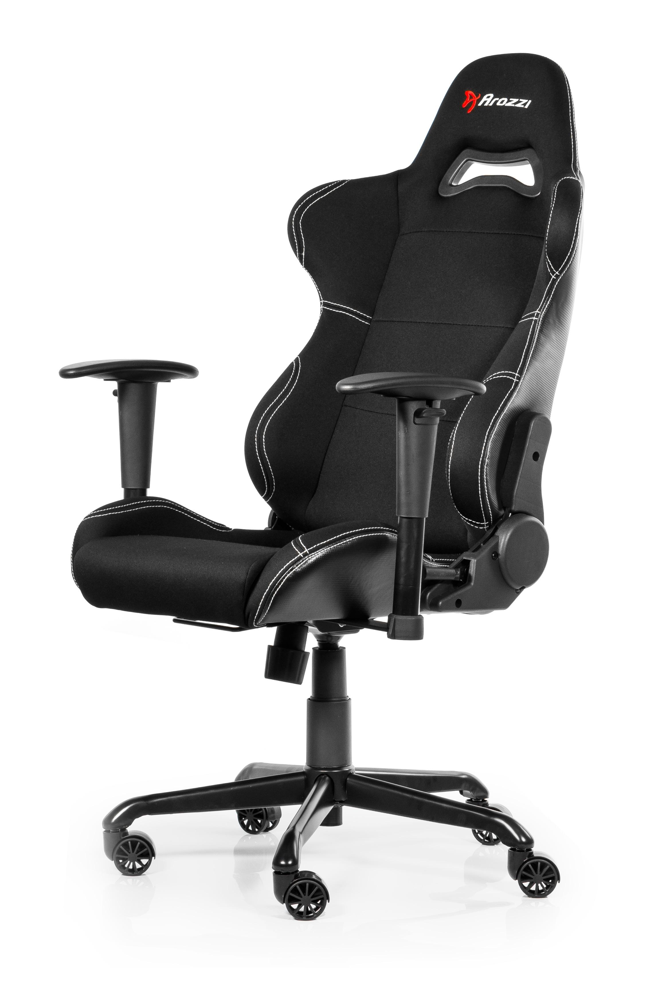 Arozzi Torretta - Universal-Gamingstuhl - 105 kg - Gepolsterter Sitz - Gepolsterte Rückenlehne - Anthrazit - Schwarz