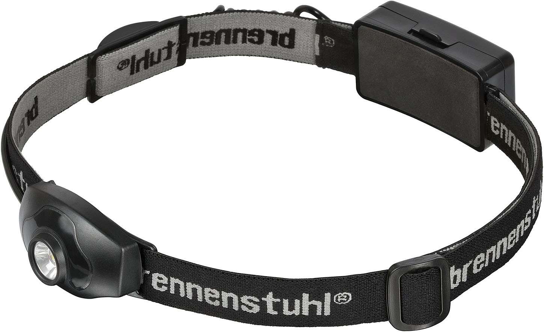 Brennenstuhl 1178760 - Stirnband-Taschenlampe - Schwarz - IP44 - LED - 2 Lampen - 100 lm