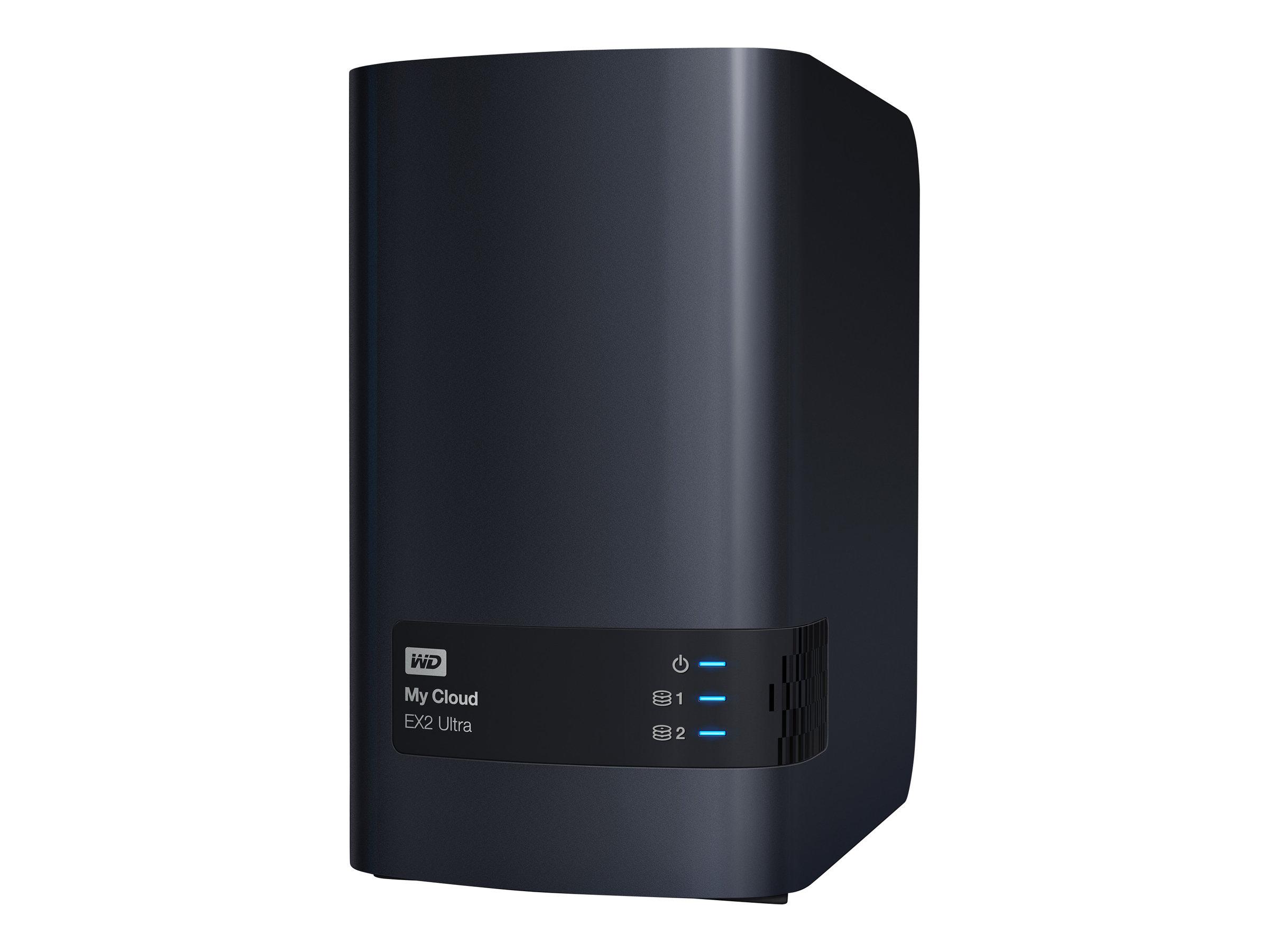 WD My Cloud EX2 Ultra WDBVBZ0040JCH - Gerät für persönlichen Cloudspeicher