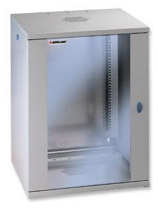 Intellinet 711944 - 15U - Wandmontiertes Regal - 60 kg - Grau - SPCC - Geschlossen