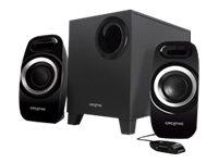 INSPIRE T3300 2.1Kanäle 27W Schwarz Lautsprecherset