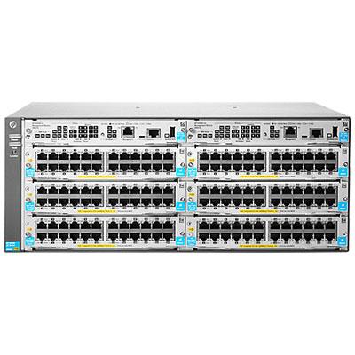 HP Enterprise 5406R zl2 - 444,5 mm - 450,9 mm - 175,3 mm - 11,1 kg - 6 freie Modulsteckplätze; Unterstützung für maximal 48 10GbE-Anschlüsse - 144...