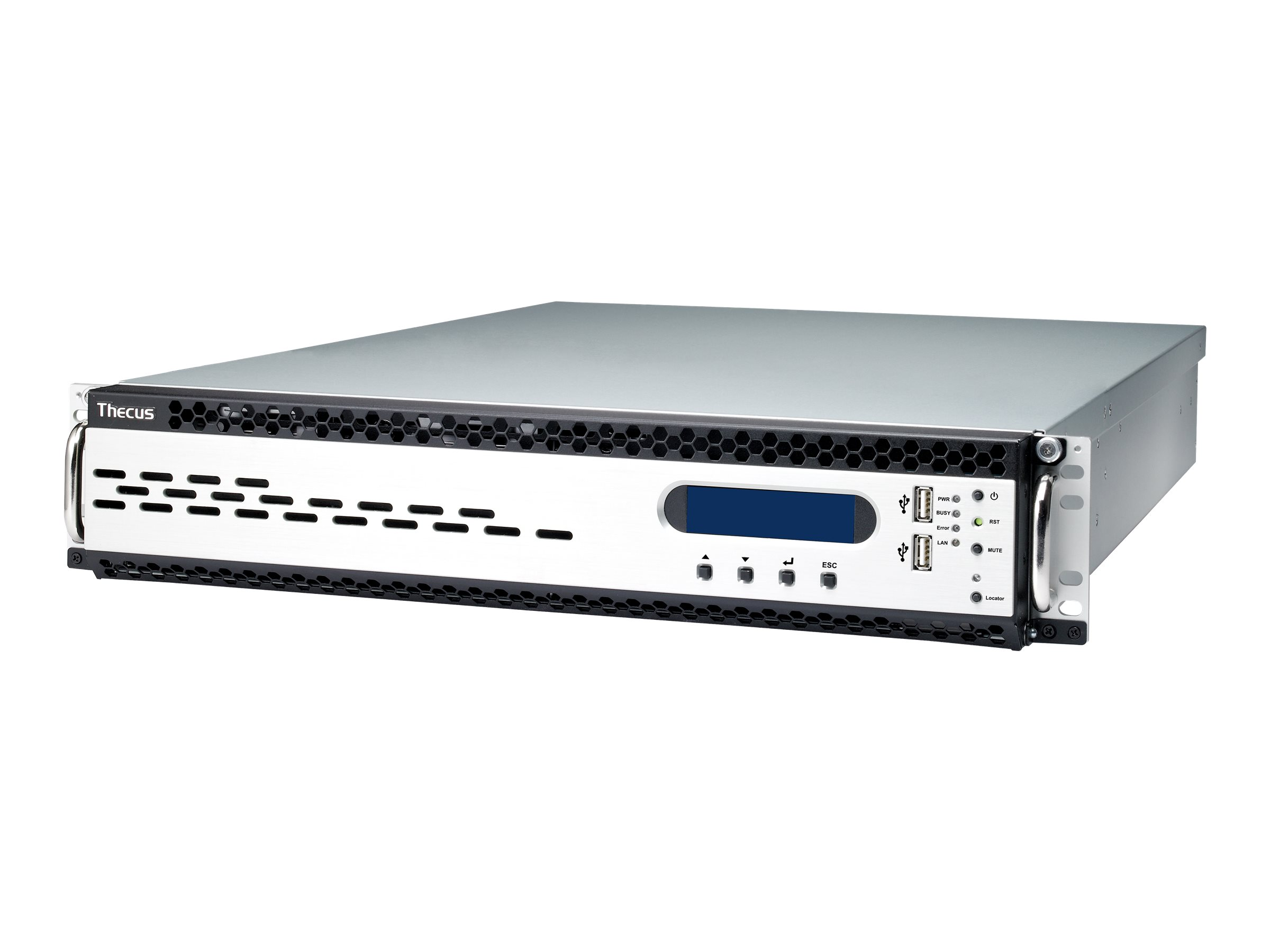 Thecus Technology N12910 - NAS-Server - 12 Sch?chte