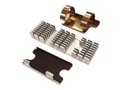 QNAP HS-M2SSD-02 - Solid State Drive Kühlkörper - Dunkelgrün (Packung mit 2)